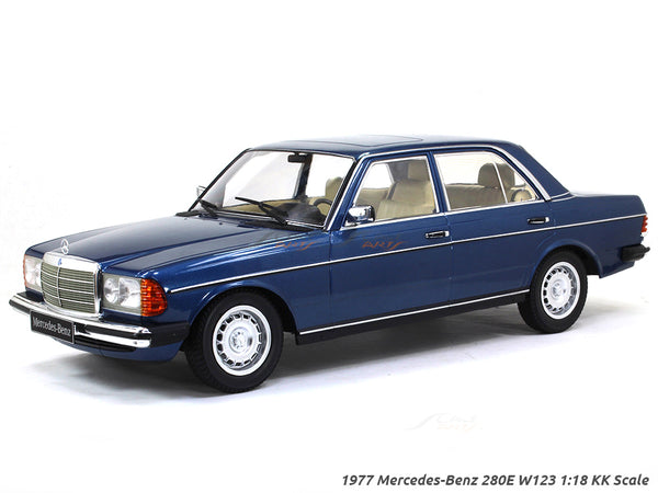 1977 Mercedes-Benz 280E W123 1:18 KK Scale diecast model car