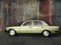 1977 Mercedes-Benz 280E W123 green 1:18 KK Scale diecast model car