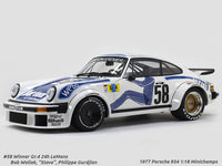 1977 Porsche 934 #58 Winner Gr.4 24h LeMans 1:18 Minichamps diecast scale model car
