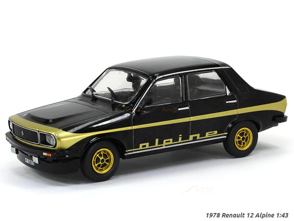 1978 Renault 12 Alpine 1:43 diecast Scale Model Car