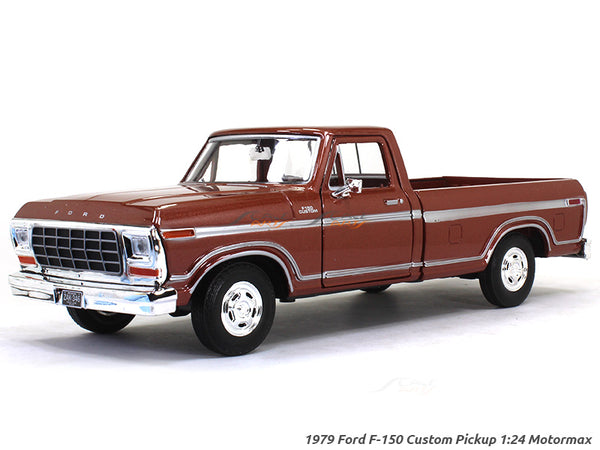 1979 Ford F-150 Custom Pickup 1:24 Motormax diecast scale model car
