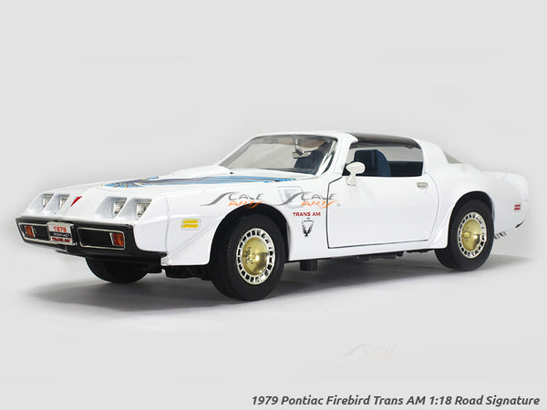 1979 Pontiac Firebird Trans AM 1:18 Road Signature Yatming diecast scale model car