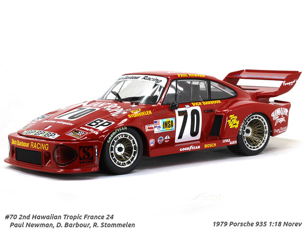 1979 Porsche 935 #70 2nd Hawaian Tropic 24h France 1:18 Norev diecast scale model car