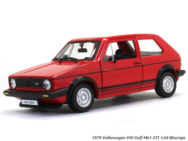 1979 Volkswagen VW Golf Mk1 GTI 1:24 Bburago diecast Scale Model car