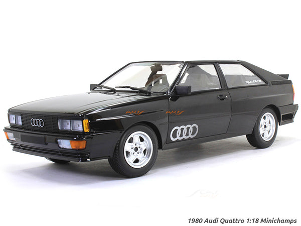 1980 Audi Quattro 1:18 Minichamps diecast scale model car