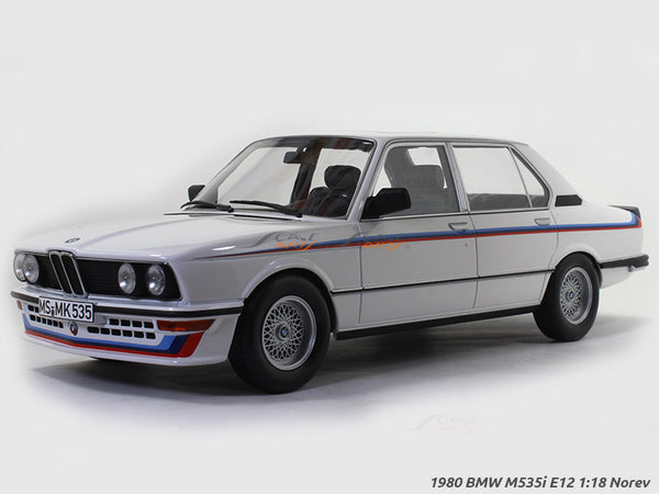 1980 BMW M535i E12 1:18 Norev diecast scale model car