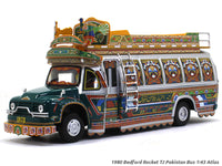 1980 Bedford Rocket TJ Pakistan Bus 1:43 Atlas diecast Scale Model Bus