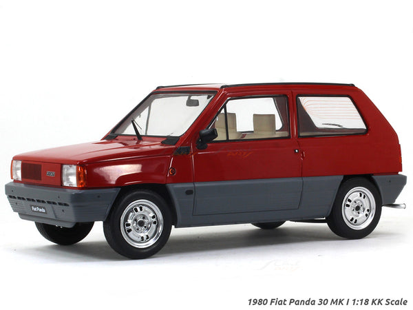 1980 Fiat Panda 30 MK I 1:18 KK Scale diecast Scale Model car