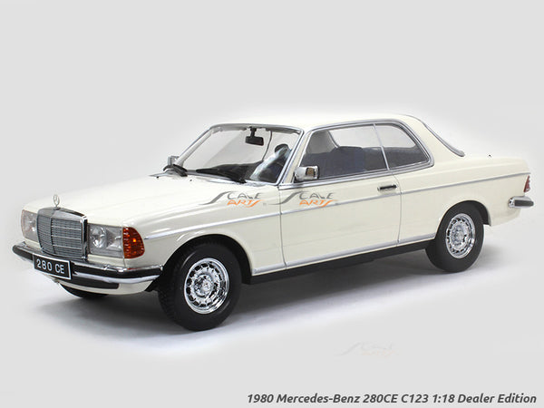 1980 Mercedes-Benz 280CE C123 1:18 Dealer Edition Norev diecast scale model car