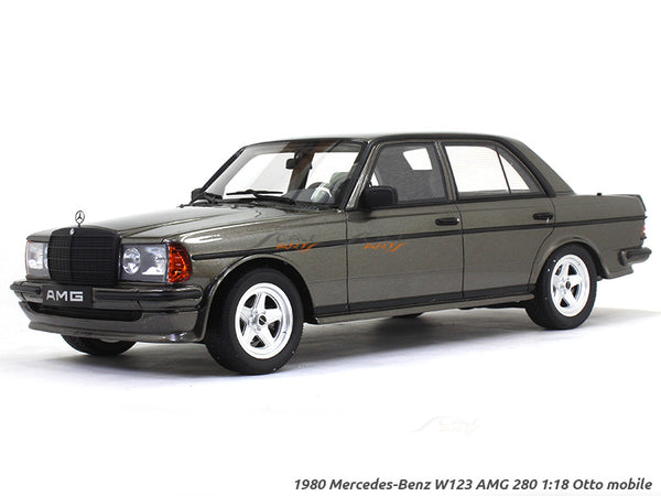 1980 Mercedes-Benz W123 AMG 280 1:18 Otto mobile scale model car