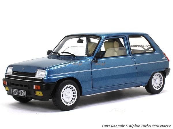 1981 Renault 5 Alpine Turbo 1:18 Norev diecast scale model car