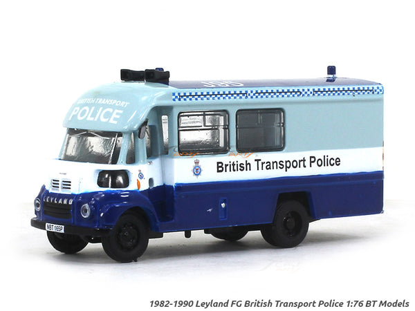 1982-1990 Leyland FG British Transport Police 1:76 BT Models diecast scale model truck