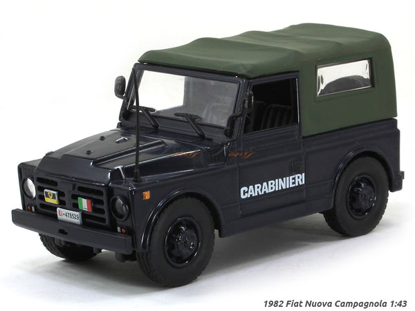 1982 Fiat Nuova Campagnola 1:43 diecast Scale Model Car