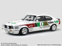 1982 Ford Capri 3.0 S #1 24h Nurburgring 1:18 Minichamps diecast scale model car