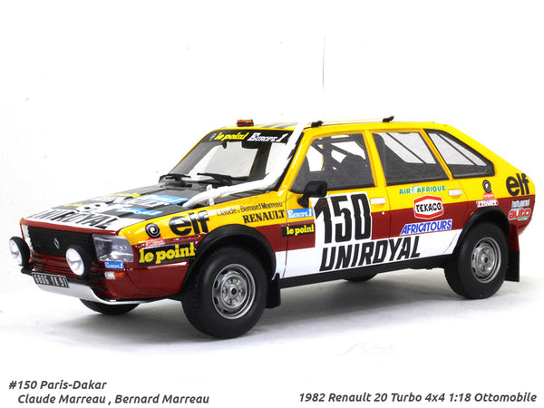 1982 Renault 20 Turbo 4x4 Paris Dakar rally 1:18 Ottomobile scale model car