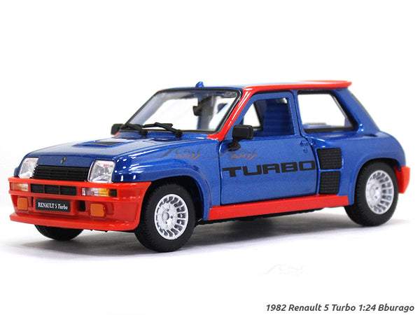 1982 Renault 5 Turbo 1:24 Bburago diecast Scale Model car