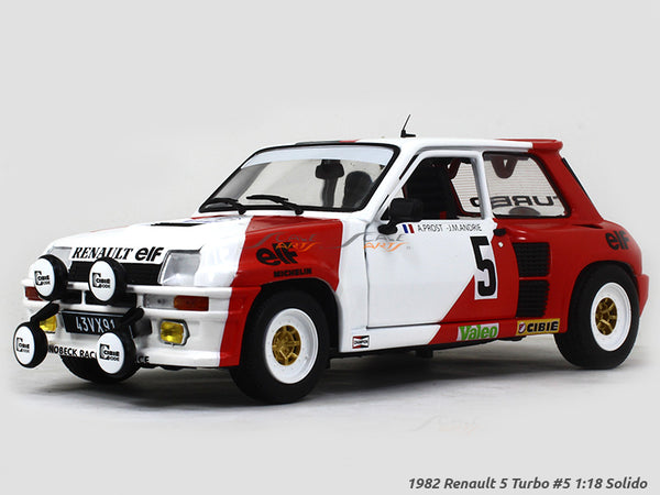 1982 Renault 5 Turbo #5 1:18 Solido diecast Scale Model Car