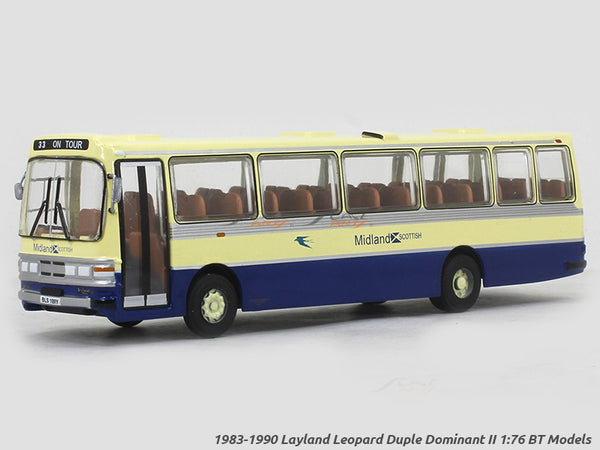 1983-1990 Layland Leopard Duple Dominant II 1:76 BT Models diecast scale model bus
