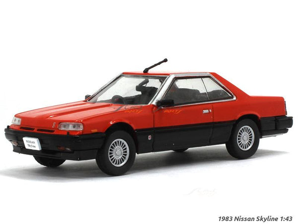 1983 Nissan Skyline 1:43 diecast Scale Model Car