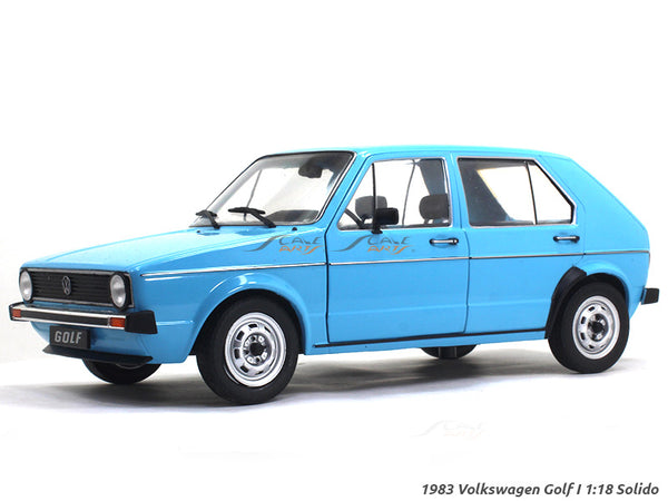 1983 Volkswagen Golf I 1:18 Solido diecast Scale Model Car