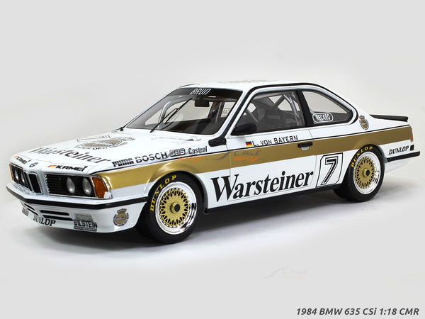 1984 BMW 635 CSi Warsteiner 1:18 CMR Scale Model Car