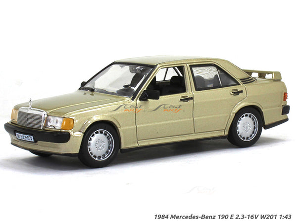 1984 Mercedes-Benz 190 E 2.3-16V W201 1:43 diecast Scale Model Car