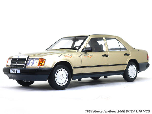 1984 Mercedes-Benz 260E W124 1:18 MCG diecast Scale Model Car