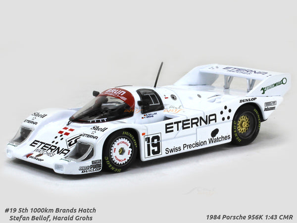 1984 Porsche 956K #19 Stefan Bellof 1:43 CMR diecast Scale Model Car