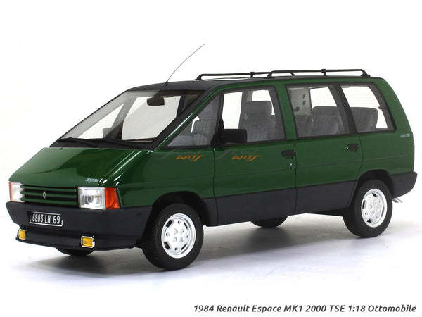 1984 Renault Espace MK1 2000 TSE 1:18 Ottomobile Scale Model car