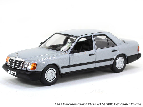 1985 Mercedes-Benz E Class W124 300E 1:43 Dealer Edition diecast scale model van