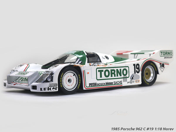 1985 Porsche 962 C #19 1:18 Norev diecast scale model car