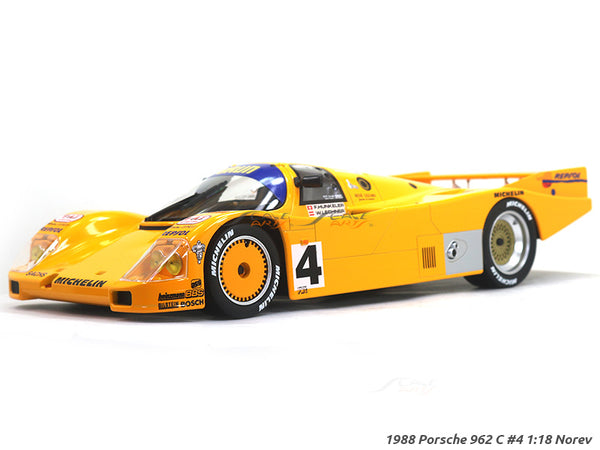 1988 Porsche 962 C #4 1:18 Norev diecast scale model car