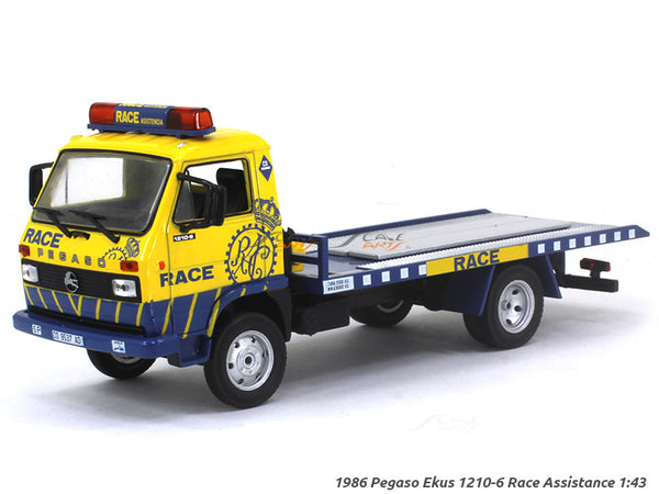 1986 Pegaso Ekus 1210-6 Race Assistance 1:43 diecast Scale Model Truck
