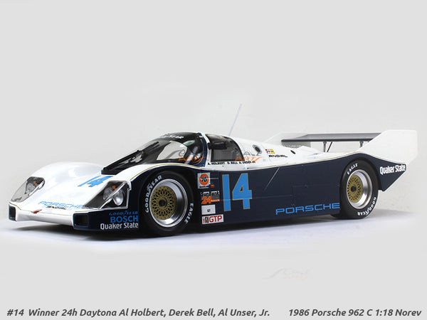 1986 Porsche 962 C #14 1:18 Norev diecast scale model car