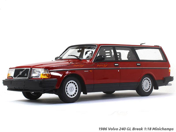 1986 Volvo 240 GL Break 1:18 Minichamps diecast scale model car