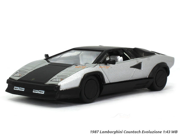 1987 Lamborghini Countach Evoluzione 1:43 Whitebox diecast Scale Model Car