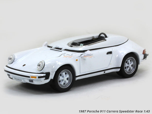 1987 Porsche 911 Carrera Speedster Race 1:43 diecast Scale Model Car