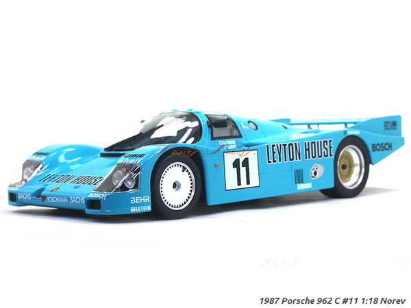 1987 Porsche 962 C #11 1:18 Norev diecast scale model car