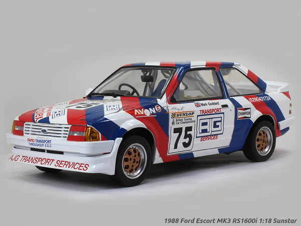 1988 Ford Escort MK3 RS1600i 1:18 Sunstar diecast Scale Model car