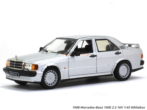 1988 Mercedes-Benz 190E 2.3 16V 1:43 Whitebox diecast Scale Model Car