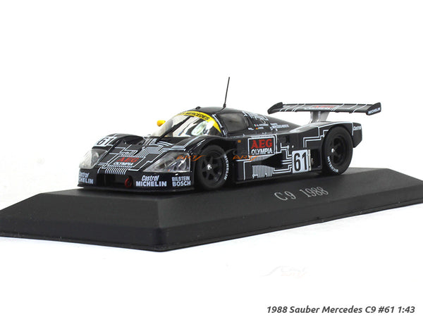 1988 Sauber Mercedes C9 61 1:43 diecast Scale Model car