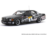 1989 Mercedes-Benz 500SEC AMG Spa 1:43 AUTOart diecast scale model car