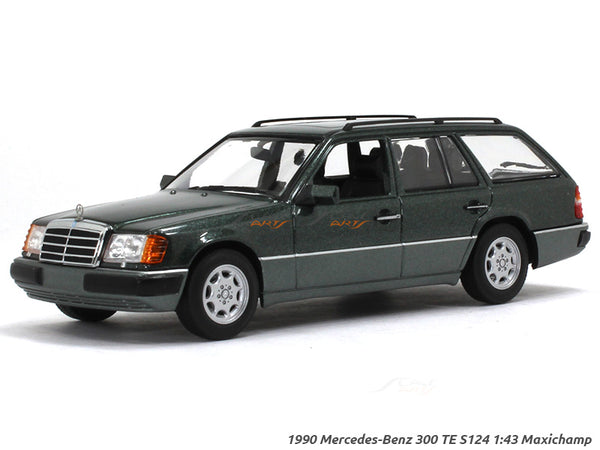 1990 Mercedes-Benz 300 TE S124 1:43 Maxichamp diecast Scale Model Car