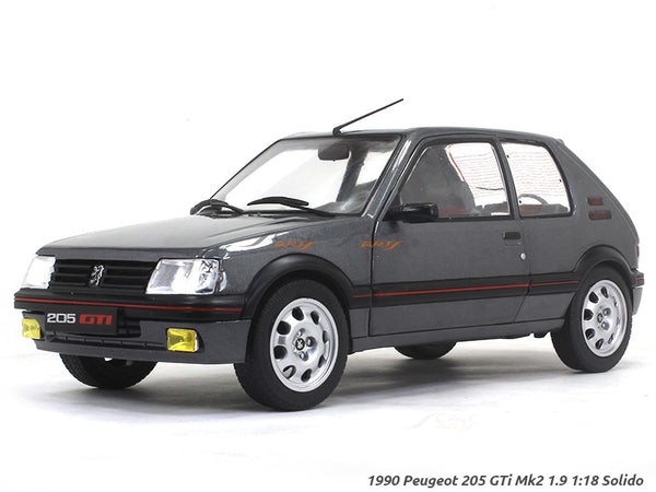 1990 Peugeot 205 GTi Mk2 1.9 1:18 Solido diecast Scale Model Car