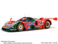 1991 Mazda 787B #55 Winner 24h LeMans 1:18 CMR diecast scale model car