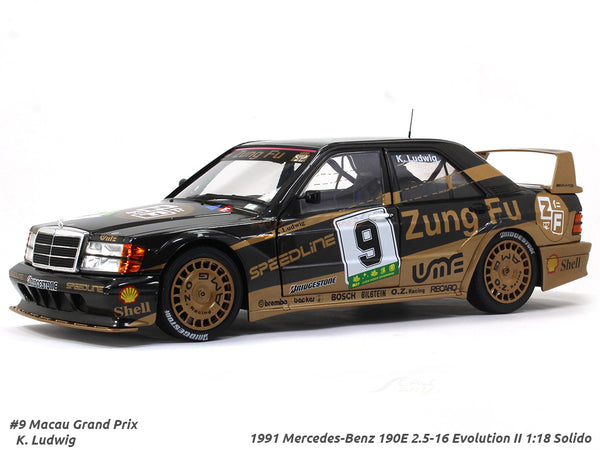 1991 Mercedes-Benz 190E 2.5-16 Evolution II Zung Fu 1:18 Solido diecast scale model