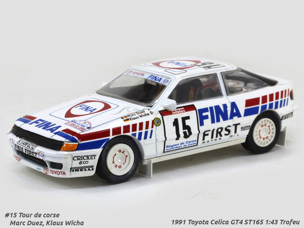 1991 Toyota Celica GT4 ST165 1:43 Trofeu Scale Model Car