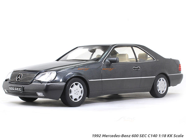 1992 Mercedes-Benz 600 SEC C140 1:18 KK Scale diecast model car