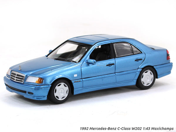 1992 Mercedes-Benz C Class W202 1:43 Maxichamps diecast Scale Model car