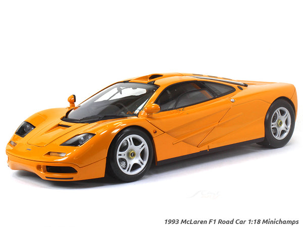 1993 McLaren F1 Road Car 1:18 Minichamps diecast Scale Model Car